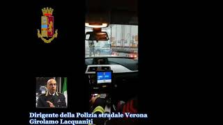 Falsi autotrasportatori arrestati dalla Stradale di Verona