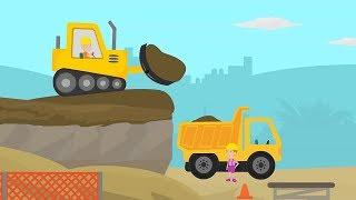 Digger For Kids | Excavator, Crane & Other Construction Tucks
