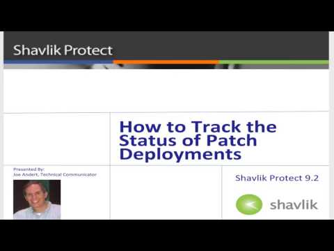 Protect 9.2: How to Track Deployment Status