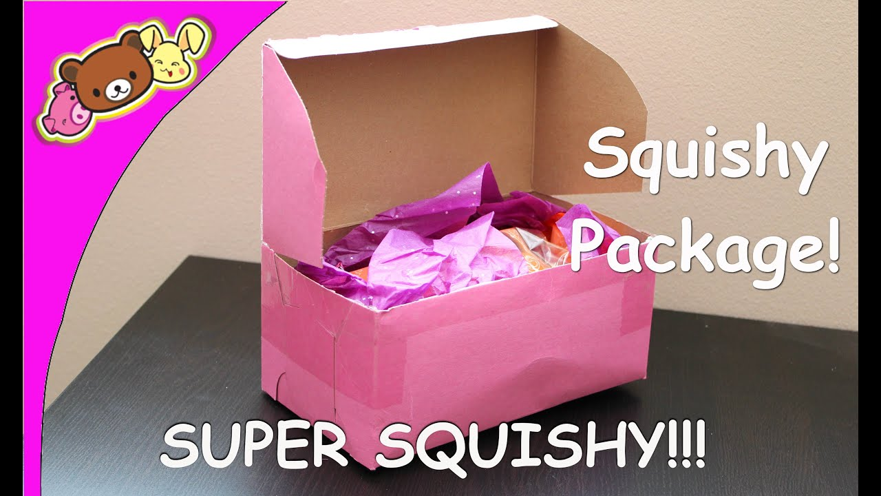 Silly Squishies Squishy Collection : Squishy Package From Silly Squishies - SUPER SQUISHY!!!!!!! - YouTube