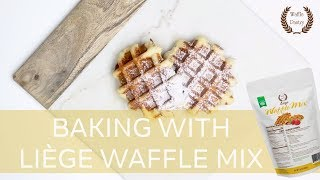 Baking With Liège Waffle Mix | Pearl Sugar Recipe | WafflePantry.com