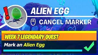 Mark an Alien Egg (WORKING LOCATIONS) - Fortnite