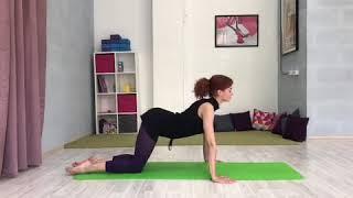 Видеоурок: растяжка спины, часть 1