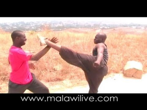 Fighting scene, My Son, Malawi Action Movie