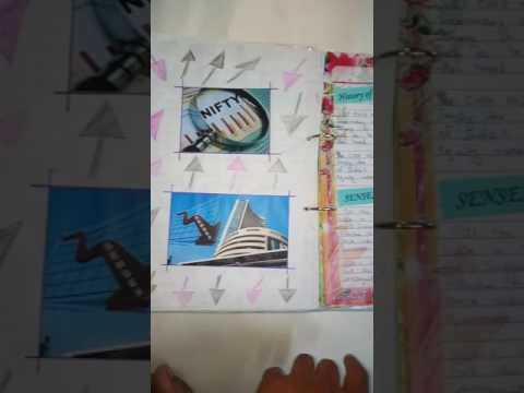 Class 12 project on stock exchange