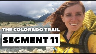 The Colorado Trail, Segment 11: Mt Massive to Twin Lakes / Collegiate West (mile 169.7 - 183.5)