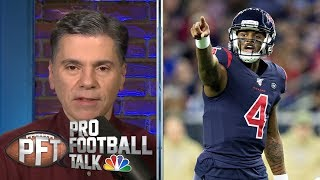 Texans saved by replay controversy against Colts on TNF | Pro Football Talk | NBC Sports