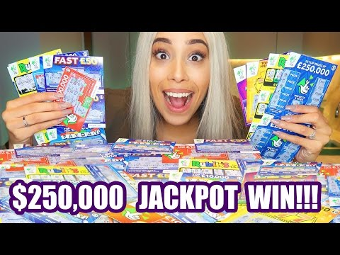EPIC $1,000 SCRATCH CARD LOTTO CHALLENGE!💰😱(SHE WON $250,000