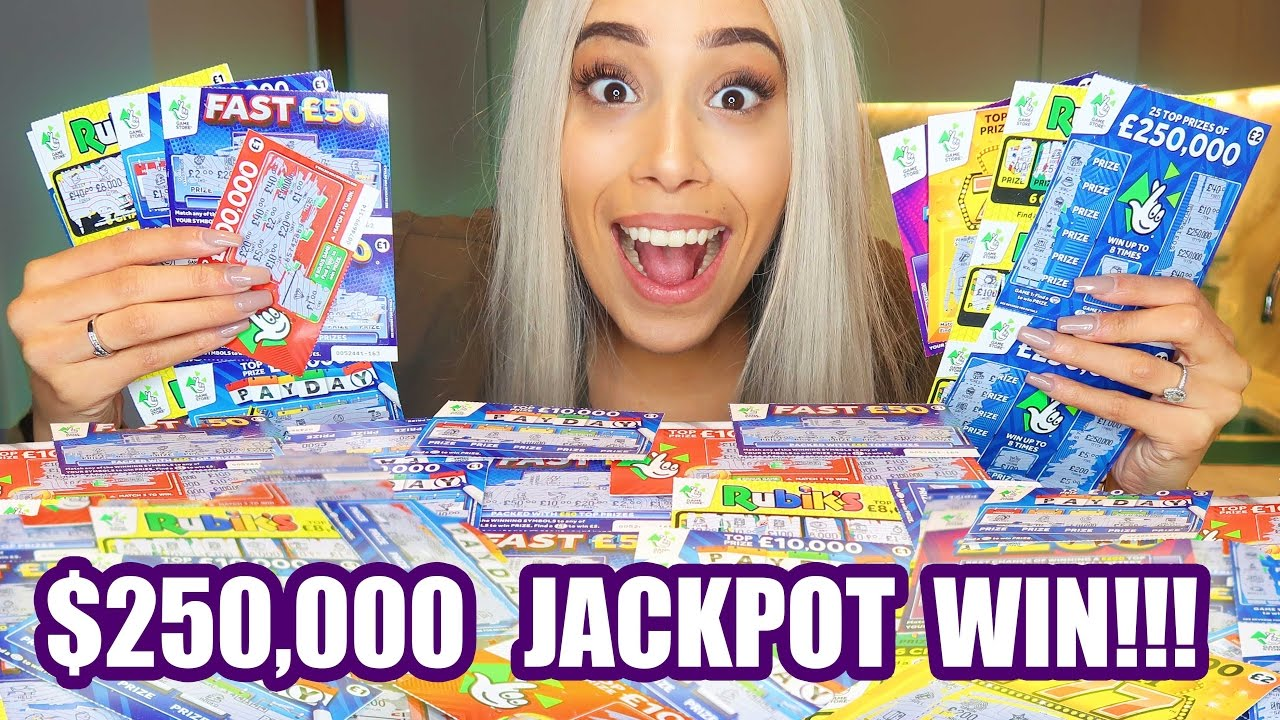 EPIC $1,000 SCRATCH CARD LOTTO CHALLENGE!💰😱(SHE WON $250,000 JACKPOT)