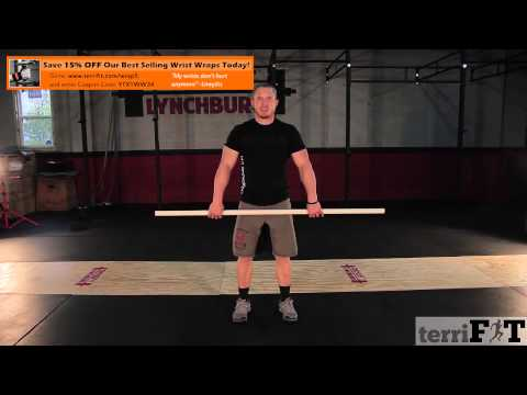 Hang Power Clean: Technique for Proper Hang Cleans