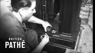 Hand Made Coins In Rome (1946)