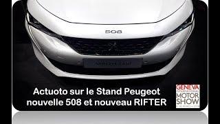 Actuoto-Salon : Peugeot au Salon de l'auto de Genève (GIMS) 2018