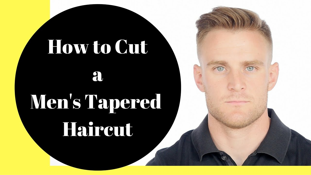 tapered haircut thesalonguy youtube