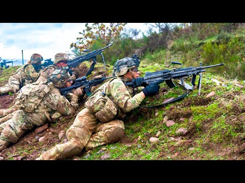 US Army Paratroopers On A Squad Mission | Exercise Full Tang . Baumholder, Germany