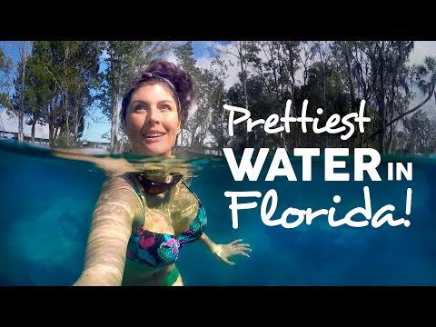 CRYSTAL RIVER FLORIDA & Three Sisters Springs  New GoPro GEAR