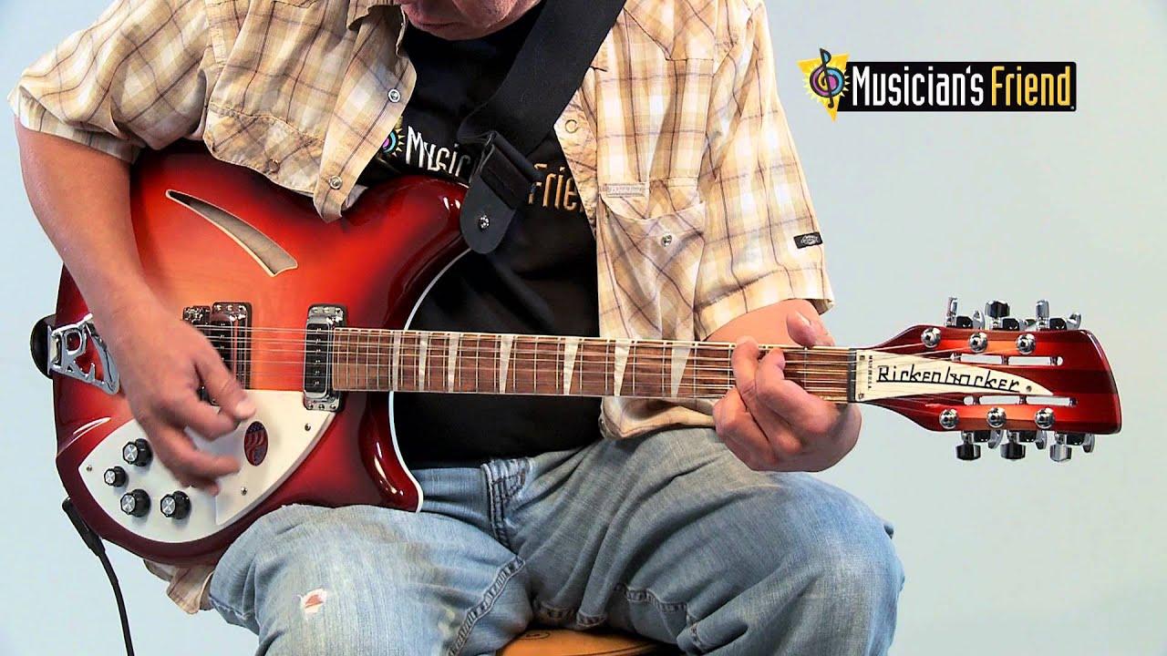 rickenbacker 360 12 string electric guitar youtube. Black Bedroom Furniture Sets. Home Design Ideas