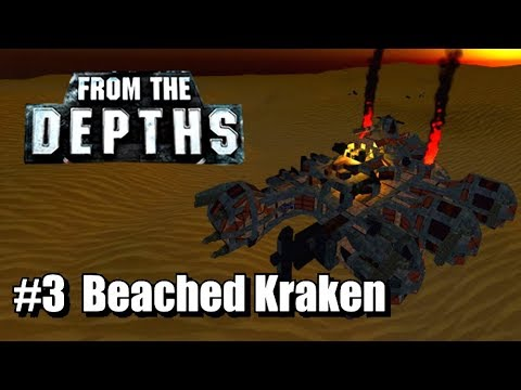 From the Depths - Neter Campaign, Part 3 - Beached Kraken