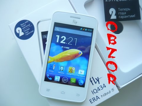 fly iq434 era nano 5 white самый доступный по цене