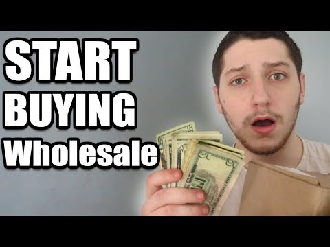 How To Buy Name Brand Wholesale Products With Little Money | Amazon FBA & eBay