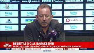 Sergen Yalçın Camianın İstediği Futbolu Sergileyen Oynar / Beşiktaş 3 - 2 Başakşehir Maç Sonu