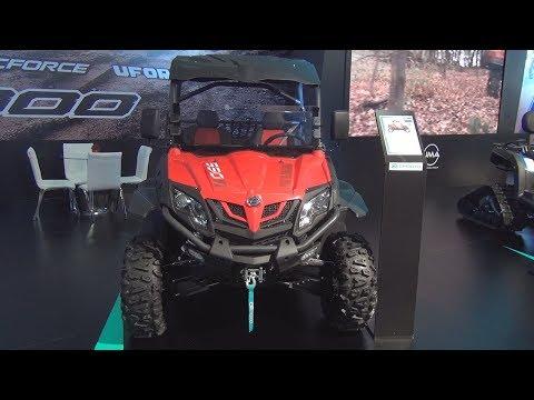 CFMoto ZForce 550 EX 4x4 (2019) Exterior and Interior