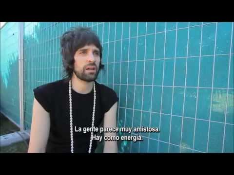 Kasabian (Sergio) , Entrevista Lollapalooza Chile 2015
