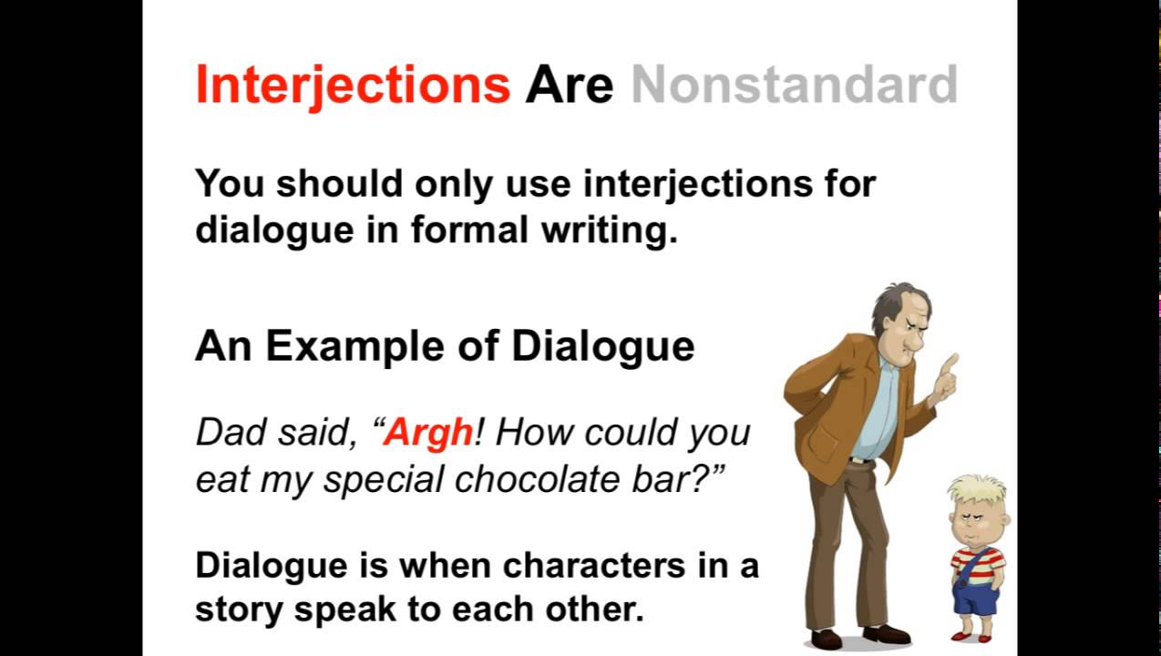 small resolution of Interjections Worksheets and Activities   Ereading Worksheets
