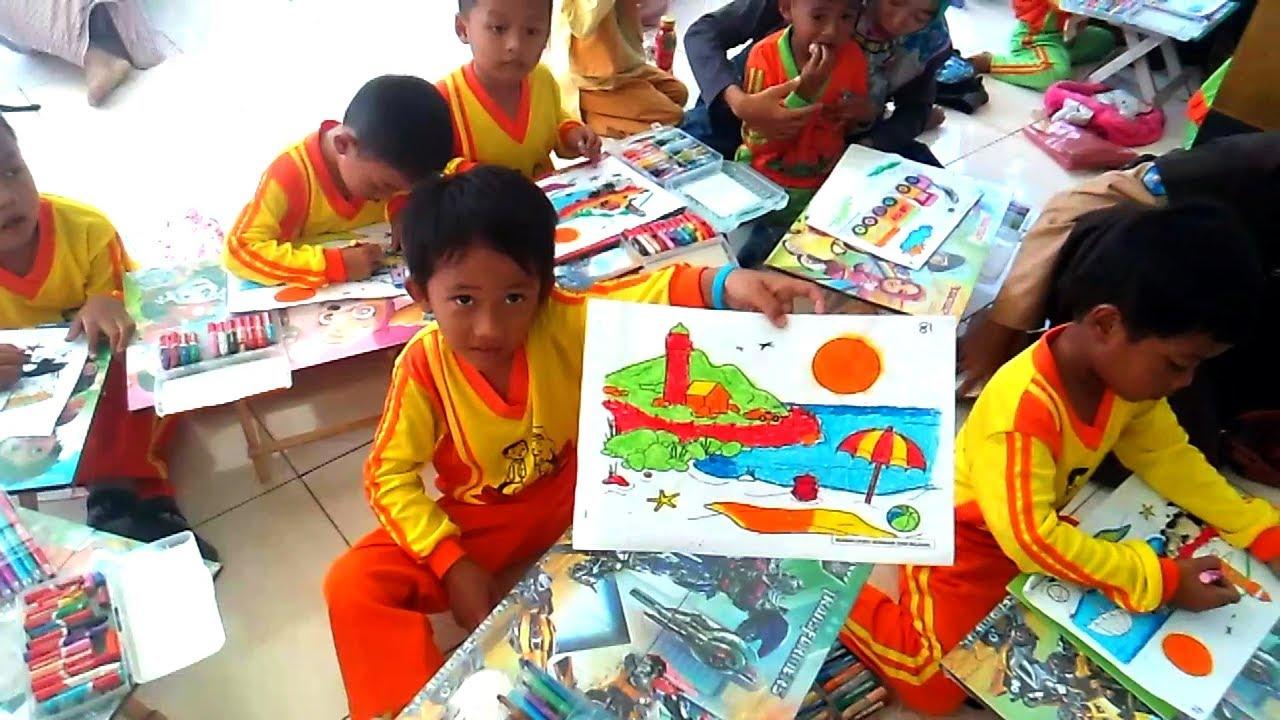 Anak Anak Mewarnai Melatih Kreatifitas Ketlatenan Dan Kesabaran