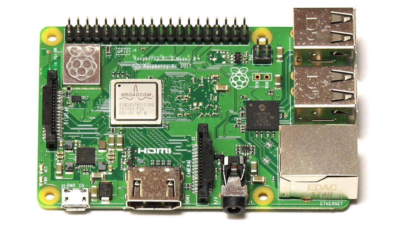 Raspberry Pi 3 Model B+ on