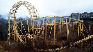 Abandoned Theme Park on Top of a Mountain  Ghost Town in the Sky