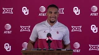 OU football: Hurts talks West Virginia and Kansas State