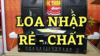 Loa karaoke boka 208 hàng nhập chỉ 1tr600k một đôi