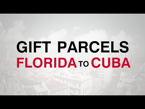 Crowley's Cuba Express Shipping Service for Gift Parcels