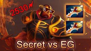 EternalEnvy best Ember Spirit Rapiers gaming — Secret vs EG