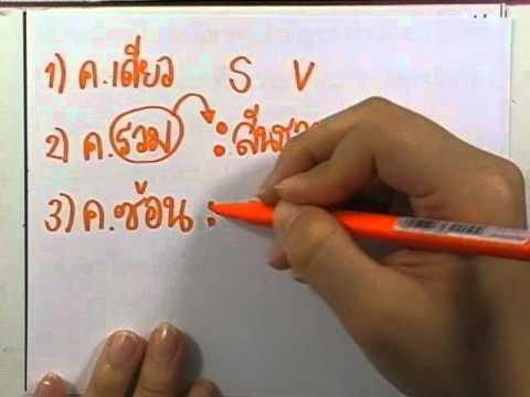 ข้อสอบเข้าม.1 : ภาษาไทย ชุด04 ข้อ36