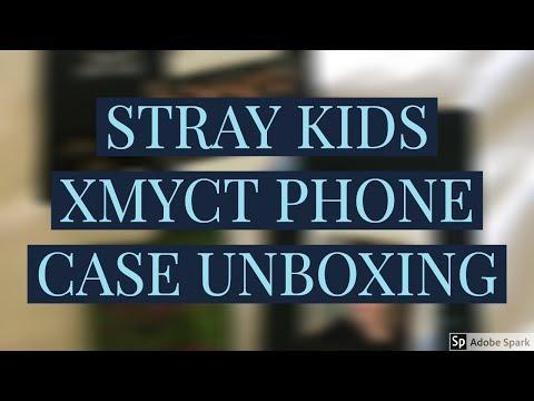 STRAY KIDS SK X MYCT Felix Phone Case Unboxing