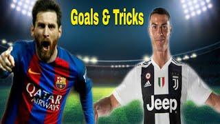 Dream League Soccer 2019 | Top 5 Goals & Skills | Messi vs Ronaldo