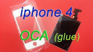 Склейка модуля iphone 4 при помощи OCA пленок и Remove Bubble Machine(На видео показана переклейка стекла методом OCA на iPhone 4 Remove Bubble Machine. Пленки OCA не текут как клей, потому нет..., 2015-03-23T18:28:22.000Z)