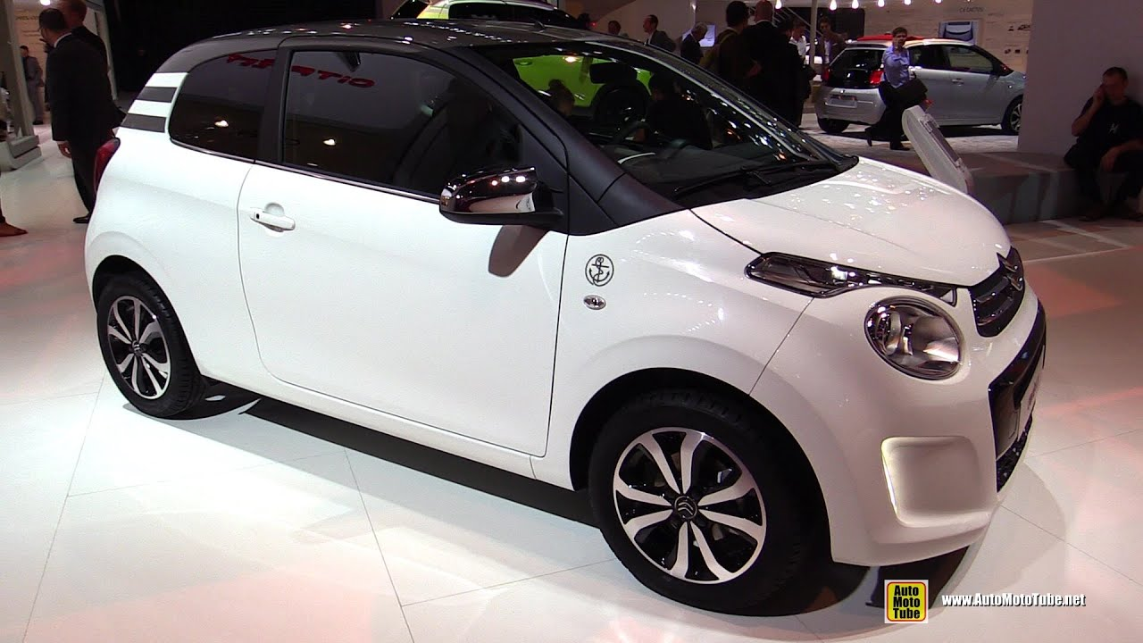 2015 citroen c1 3 door shine edition exterior and interior walkaround 2014 paris auto show. Black Bedroom Furniture Sets. Home Design Ideas