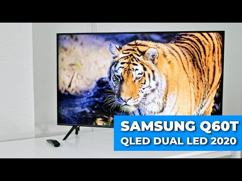 Samsung Q60T REVIEW NUEVO TV QLED Dual LED 2020