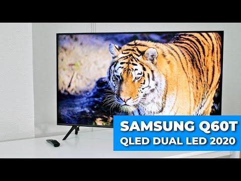 Samsung Q60T REVIEW NUEVO TV QLED Dual LED 2020