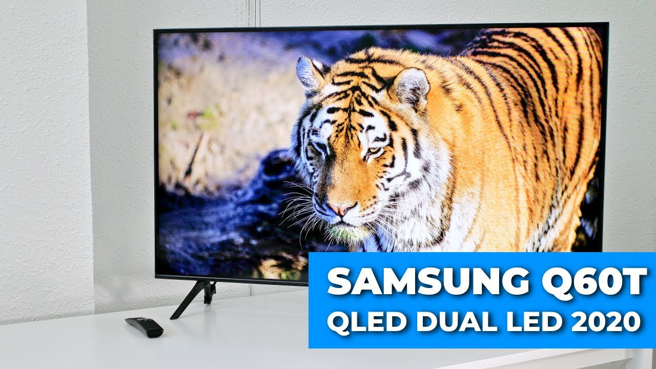 Samsung Q60T 🔹 REVIEW NUEVO TV QLED Dual LED 2020 🔹