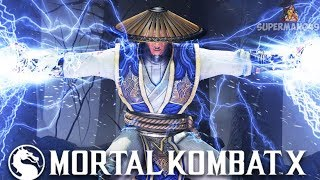 I CAN'T BELIEVE I WON PLAYING THIS CHARACTER... - Mortal Kombat X: Random Character Select