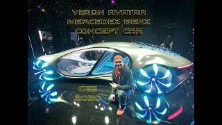 Mercedez Benz Vision Avatar Concept Car CES 2020