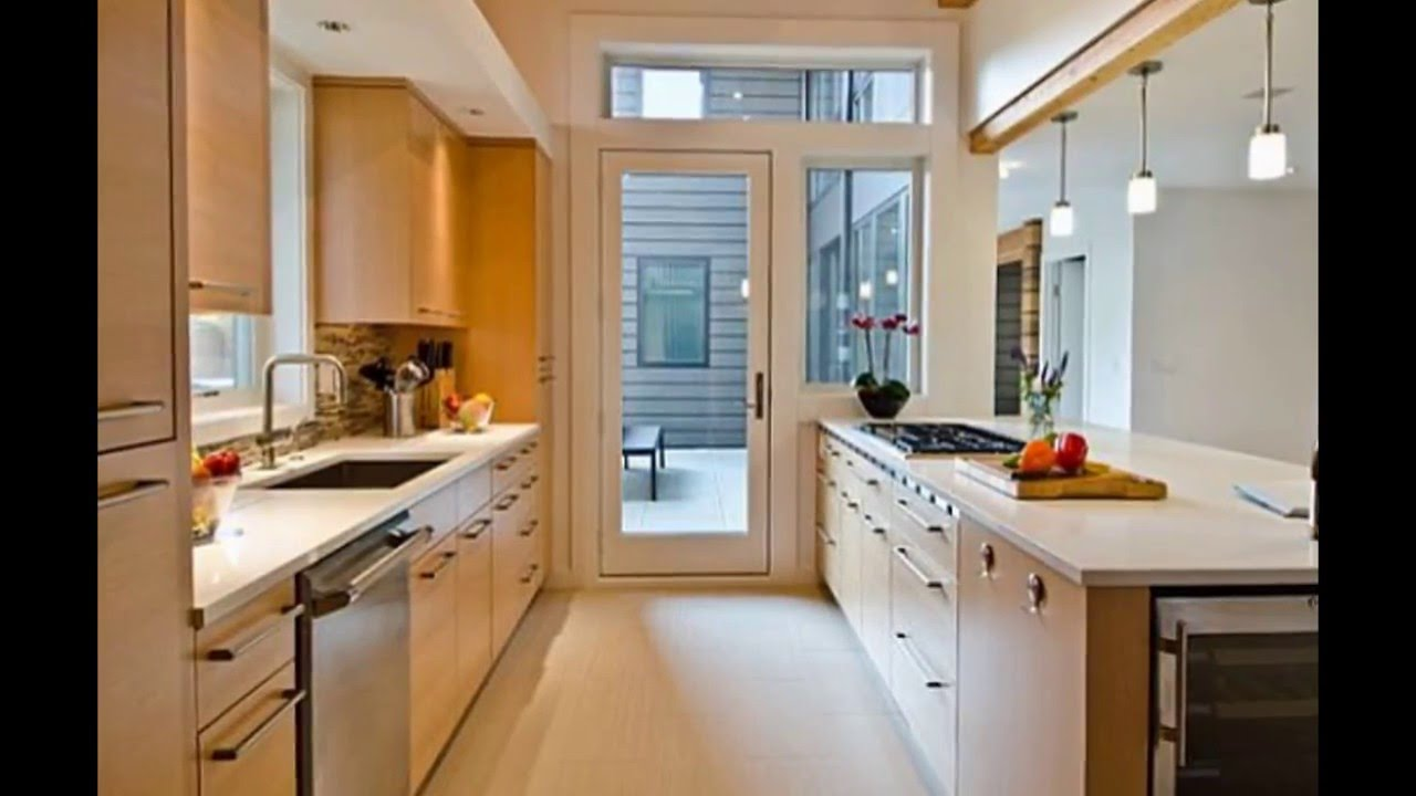 Galley Kitchen Design | Galley Kitchen Design Ideas | Small Galley Kitchen  Design   YouTube