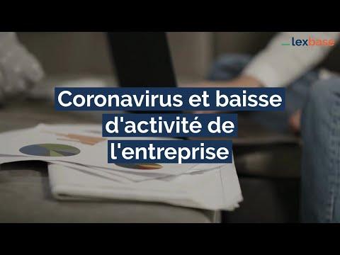 #Coronavirus et activité partielle