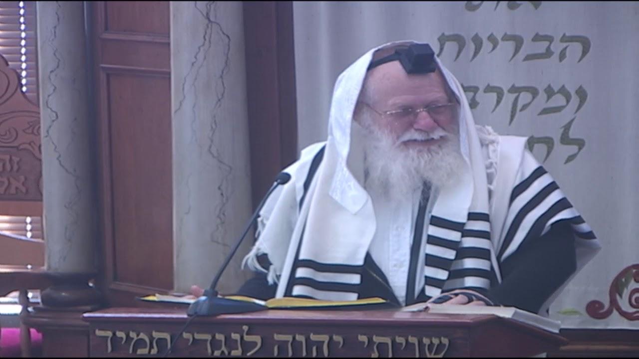 אמירת הפסוק בבית אלהים נהלך ברגש בעת הכניסה לבית הכנסת   הרב דב ביגון