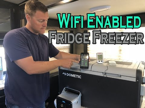 Wifi Enabled Cooler, Review of DOMETIC CFX 75 Quart Dual Zone Fridge Freezer, Power Consumption Test