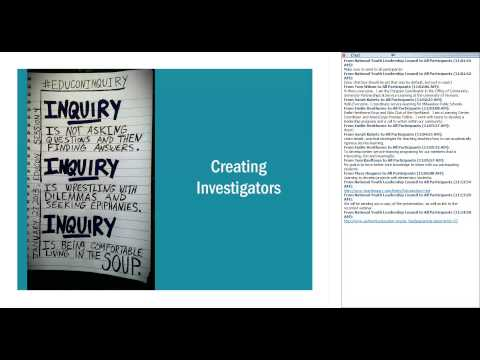 Investigation: Creating Inquiry Based Service Learning Projects