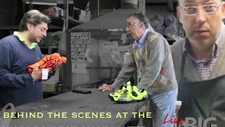 Behind the scenes at Vittoria Cycling Shoes in Italy - Live Big